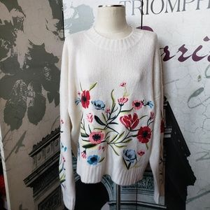 Romeo & Juliet Couture Thick Knit Sweater Size L